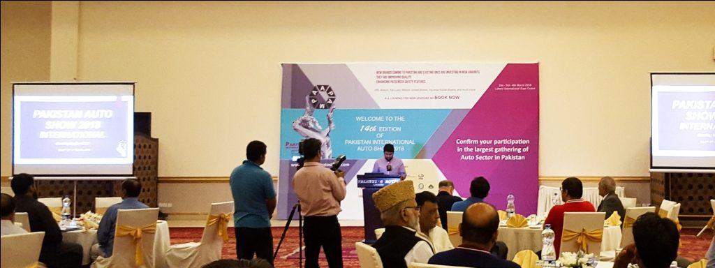 Pakistan AutoShow 2018 Launching Ceremony