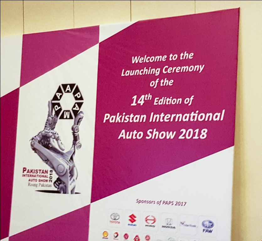 Pakistan AutoShow 2018 Launching Ceremony!
