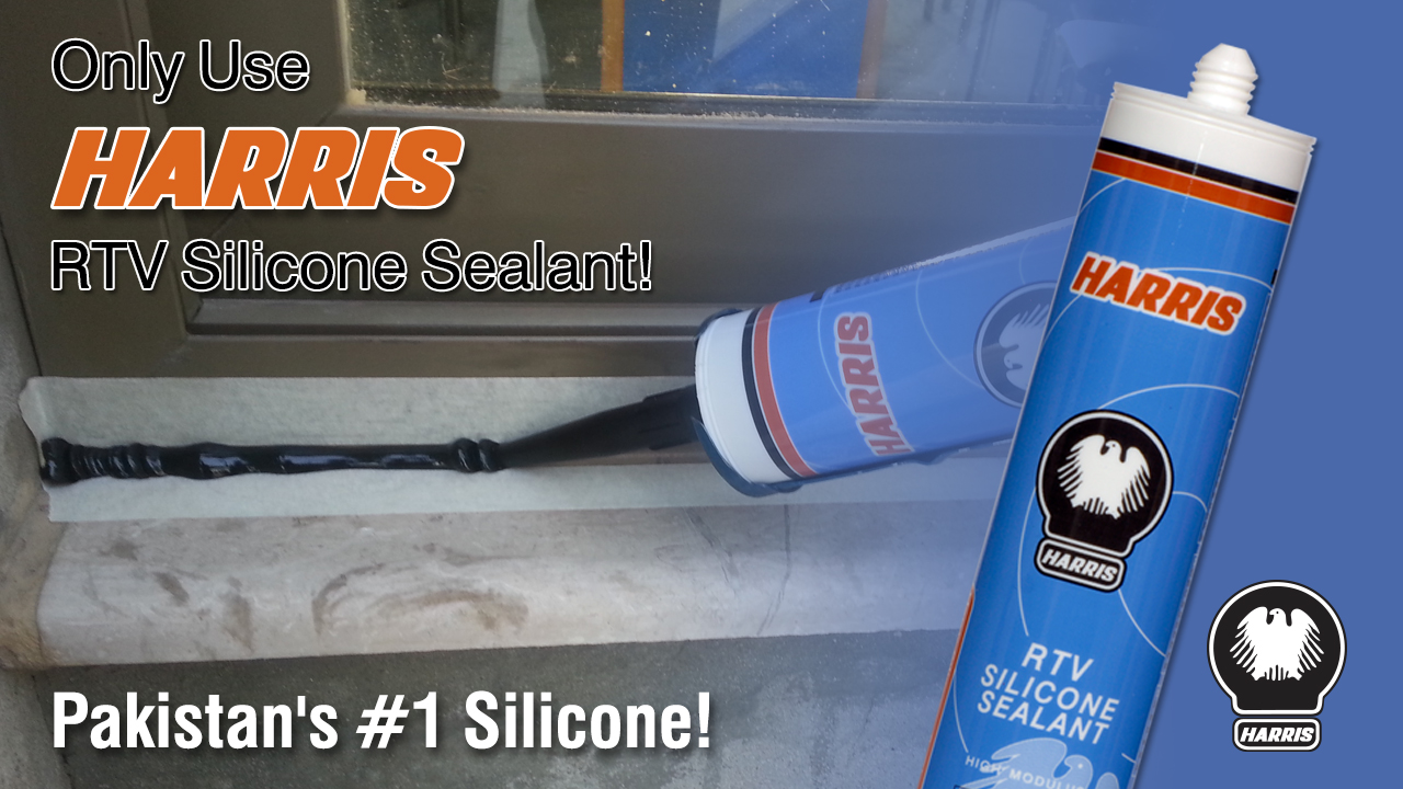Harris Silicone Sealant Application